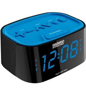 Radio reloj desp. dig. Daewoo dcr-45 azul DCR45BLAZUL