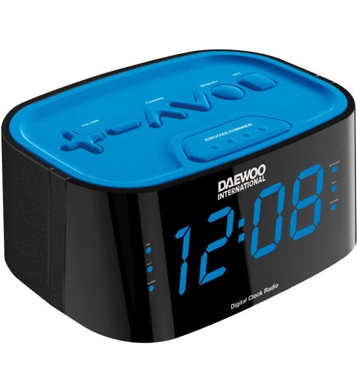Radio reloj desp. dig. Daewoo dcr-45 azul DCR45BLAZUL - DBF102