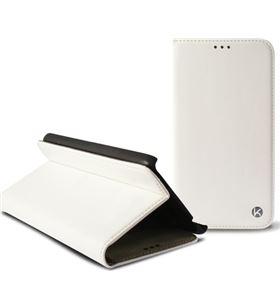 Funda folio Ksix iphone 6 407'' standing blanca B0925FU20B - B0925FU20B