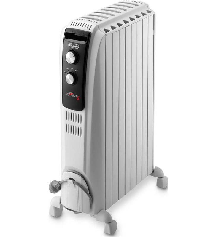 Delonghi radiador aceite TRD040820 dragon, 2000w Radiadores - TRD040820