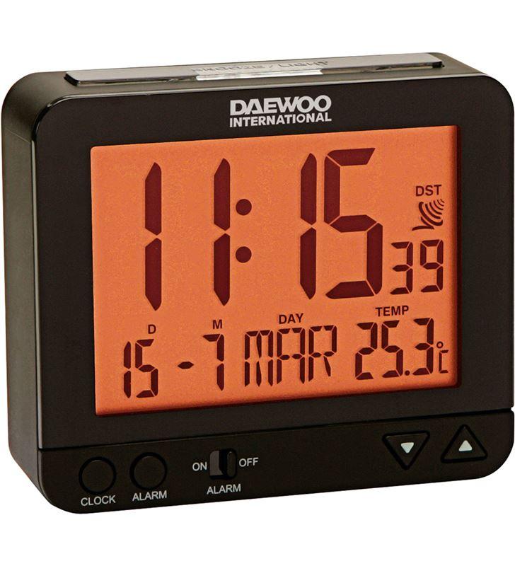 Radio reloj despertador Daewo DCD200B, pantalla re - DCD200B