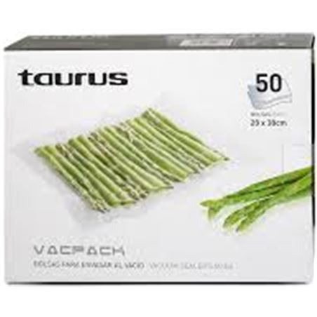 Bolsas vacpack Taurus 999185, 50 unds. de 30x35cm TAU999185 - 999185