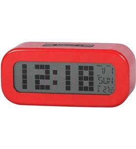 Reloj despertador dig. rojo Daewoo dcd-24-r DCD24R - 8412765661426