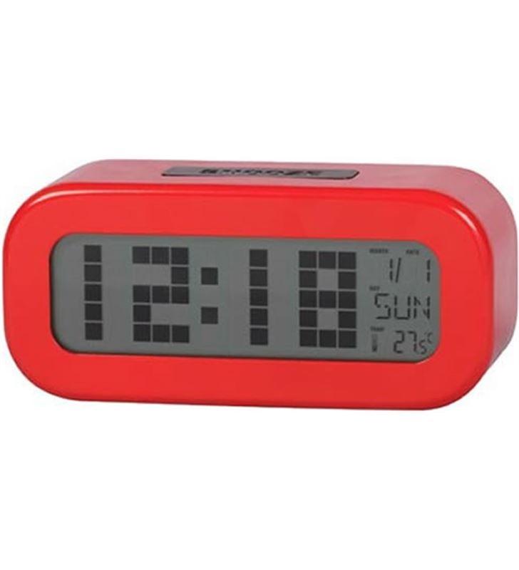 Daewo DCD24R reloj despertador digital rojo o dcd-24-r - 8412765661426