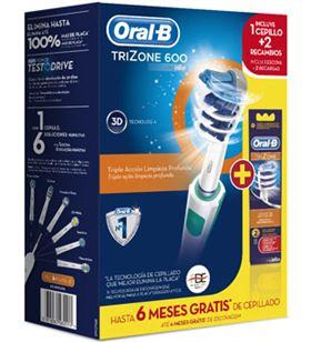 Braun cepillo dental PACKTRIZONE600 + 2 recambios