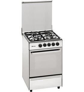 Meireles cocina convencional E531XNAT, 3 fuegos, inoxidable,