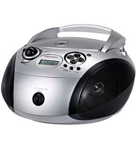 Grundig GDP6300 radio cd rcd1445 usb silver/black ( - 4013833867043