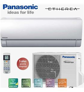Panasonic aire acondicionado KITE12QKE, inverter Aires acondicionados - 4010869241274