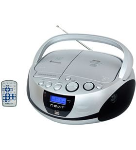 Nevir NVR480UBPL radio cd nvr480ub bluetooth mp3 usb plata - 8427155011477