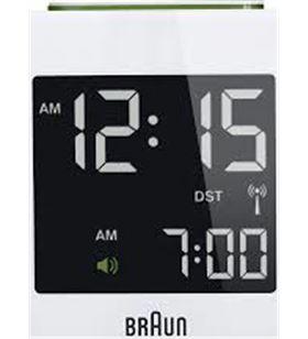 Reloj despertador Braun bnc008wh digital blanco BNC008WHWH - BNC008WH