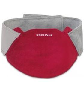 Soehnle cinturon termico sin cables rojo/gris 68031