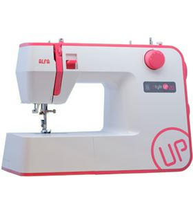 Alfa maquina coser STYLE20UP rosa