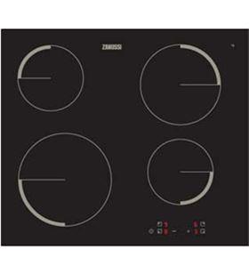 Zanussi placa vitro zev6240fba 4 fuegos sin marco ZANZEV6240FBA