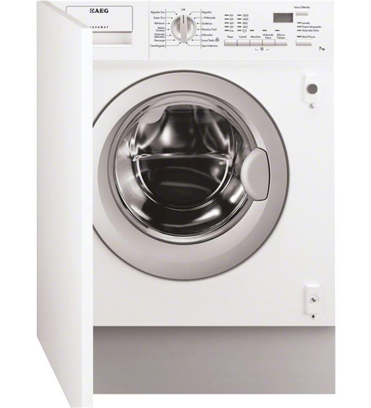 Aeg lavadora frontal integrable partner L61270BI, 1200rpm, 7e - L61270BI