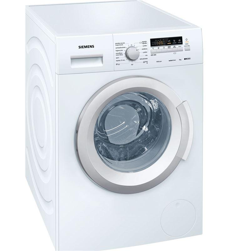 Siemens lavadora carga frontal WM14K268EE 8kg 1400rpm a+++ blanca - WM14K268EE-1