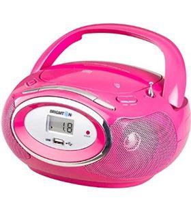 Brigmton W410R radio cd , digital, radio fm, usb Minicadenas microcadenas - W410R