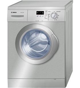 Bosch lavadora carga frontal acero mate WAE2007XES 7kg 1000rpm
