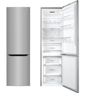 Lg frigorífico combinado gbb60pzgfs a+++ no frost inox 200cm