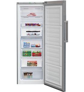 Beko congelador vertical no frost inox RFNE290L21X