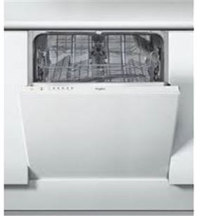 Whirlpool lavavajillas integrable blanco WIE2B19
