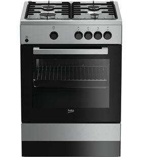 Beko cocina convencional 4 fuegos FSG62000DXL