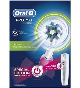 Braun cepillo dental Braun pro750 cross action pink PRO750CROSSPIN