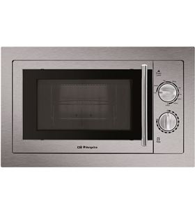 Orbegozo microondas con grill mig 2033 encastrable 20l inox mig2033