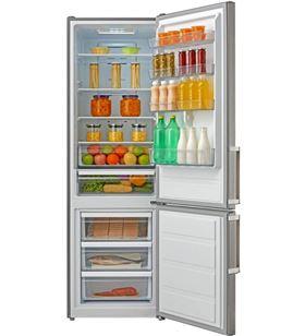 Teka frigorífico combi nofrost nfl430 40672020 inox 200 cm.