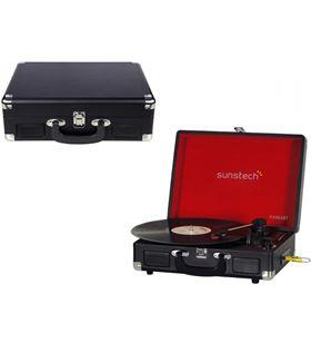 Sunstech giradiscos digital PXR6SBTbk Tocadiscos - PXR6SBT