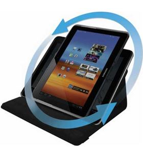 Blautel funda rotatoria c/stand sam. galaxy note 10. negr frgn1n - 8428728029943