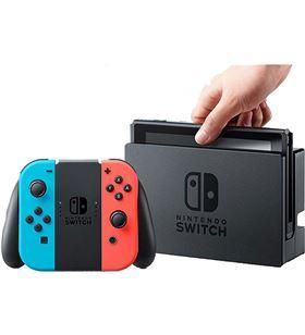 Nintendo 2500166 consola switch hw azul neón y rojo neón - 2500166