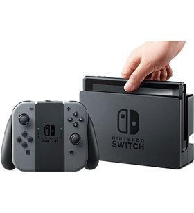 Nintendo consola switch hw gris SWITCHGREY Consolas y packs - 2500066