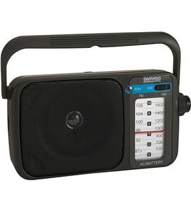 Daewoo DRP123 radio drp-123 negro Radio - DRP-123