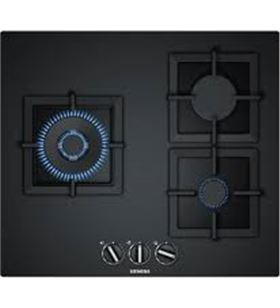 Siemens EP6A6CB20 placa cristal templado negro gas - EP6A6CB20