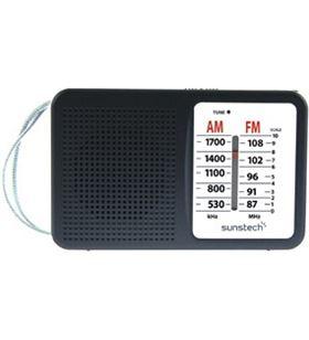 Radio portatil Sunstech RPS411BK negra Radio - RPS411BK