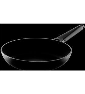 Castey sarten induc.con mango desmontable 4I20 negro 20cm