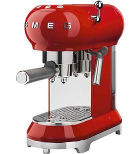Smeg máquina de cafe espresso color rojo ECF01RDEU
