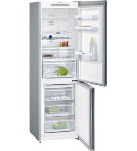 Siemens frigorifico combinado no frost KG36NVI3A acero inoxidable 186cm