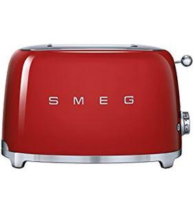 Smeg tostadora tsf01 2 slice color rojo TSF01RDEU