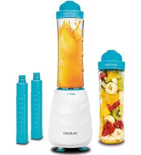 Cecotec batidora de vaso 04051 350w blanca/azul