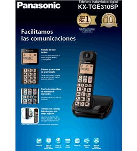 Telefono inal Panasonic kx-tge310spb personas mayo KXTGE310SPB