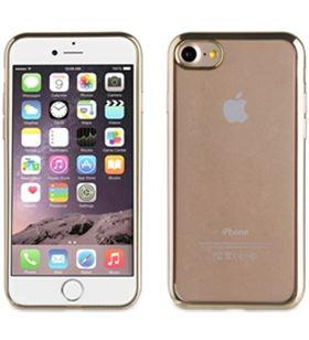 Funda tpu Muvit marco dorado bling iphone 7 MLBKC0082 - MLBKC0082