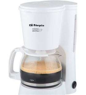 Orbegozo cafetera de goteo CG4012 blanco 650w Cafeteras - 8436044532542