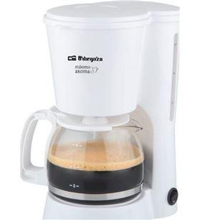 Orbegozo cafetera de goteo cg4012 blanco 650w