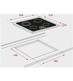Teka placa vitroceramica independiente 40239040 Vitroceramicas induccion - 40239040