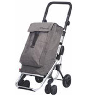 Playmarket carro compra play plegable go up gris textured 24910268