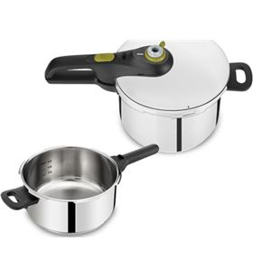 Tefal olla a presion secure 5 neo set 4 + 6l P2544337