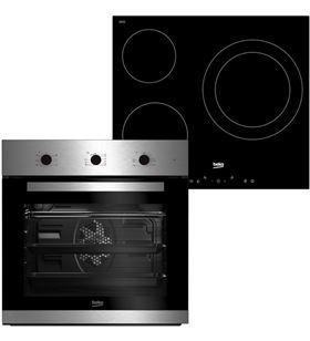Beko conjunto horno y placa bse22120x