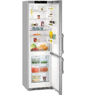 Liebherr liehberr frigorífico combinado no frost a+++ inox cnef4815 201cm
