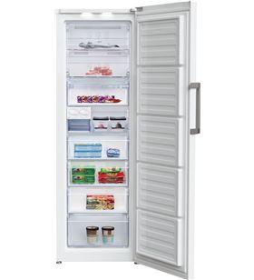 Beko congelador vertical RFNE312E33W 185cm nf blanco a++